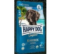 Happy Dog Karibik для взрослых собак при пищевой аллергии и кормовой непереносимости. Морская рыба/Картофель. Вес: 1 кг