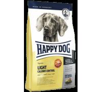 Happy Dog Light Calorie Control для взрослых собак весом с избыточным весом и для поддержания веса. Птица/Лосось/Ягненок. Вес: 1 кг