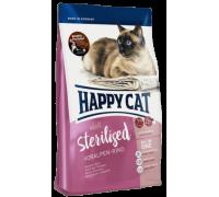 Happy Cat Sterilised Альпийская говядина. Вес:1,4 кг