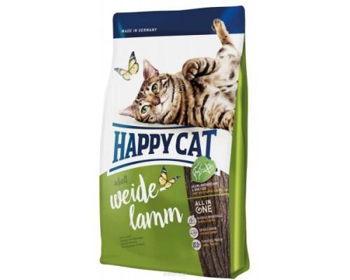 Happy Cat Supreme Fit&Well Adult для кошек с ягненком. Вес: 300 г