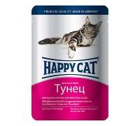 Happy Cat Паучи /тунец/ в желе. Вес: 100 г