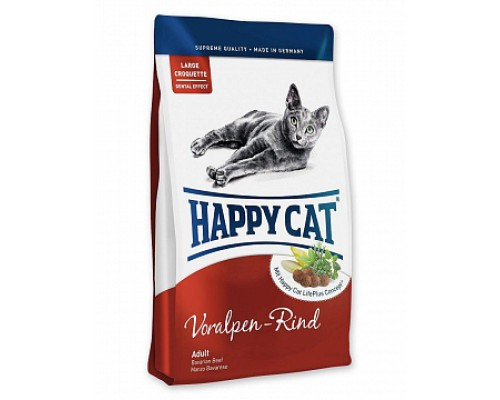 Happy Cat Adult Альпийская говядина. Вес: 300 г