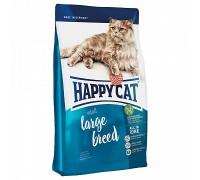 Happy Cat Large Breed для взрослых крупных кошек. Вес: 300 кг