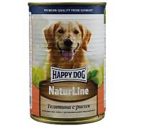 Happy Dog Телятина с рисом. Вес: 400 г
