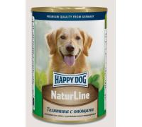 Happy Dog Телятина с овощами. Вес: 400 г