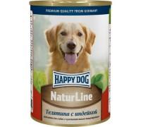 Happy Dog консервы Телятина с индейкой. Вес: 400 г