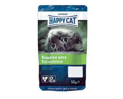 Happy Cat Лакомые подушечки, кошачья мята. Вес: 50 г