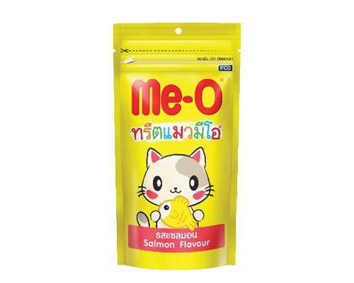 Me-O Лакомство зубочистки для кошек Лосось (контроль образ.зубного камня). Вес: 50 г
