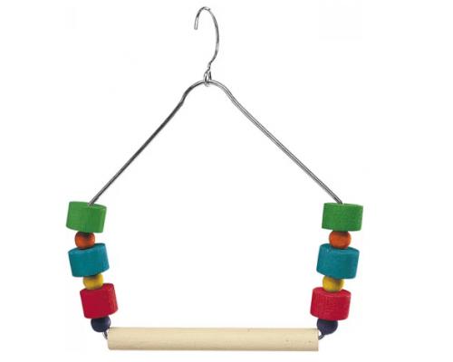 Качели - трапеция с игрушками для птиц (Ferplast)