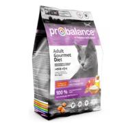 ProBalance для кошек Adult Gourmet Diet с говядиной и ягнёнком. Вес: 400 г