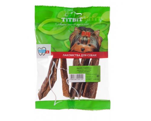 TiTBiT Вымя говяжье-мягкая упаковка. Вес: 45 г