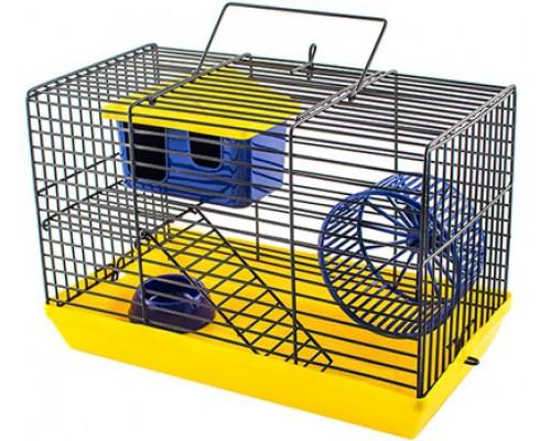 """ДАРЭЛЛ ECO Клетка-мини """"ECO"""" для грызунов с этажем, 27х15х16см (укомплект.)"""