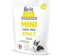Brit Care MINI GF Adult Lamb беззерновой корм для собак мини пород Ягненок. Вес: 400 г