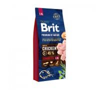 Brit Premium by Nature Senior L+XL для пожилых собак крупных и гигантских пород. Вес: 3 кг