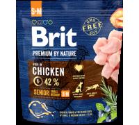 Brit Premium by Nature Senior S+M для пожилых собак мелких и средних пород. Вес: 1 кг