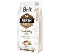 Brit Fresh Light Fit&Slim Turkey with Pea для собак контроль веса Индейка с Горохом. Вес: 2,5 кг