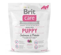 Brit Care Salmon&Potato Puppy беззерновой для щенков, лосось с картофелем. Вес: 1 кг