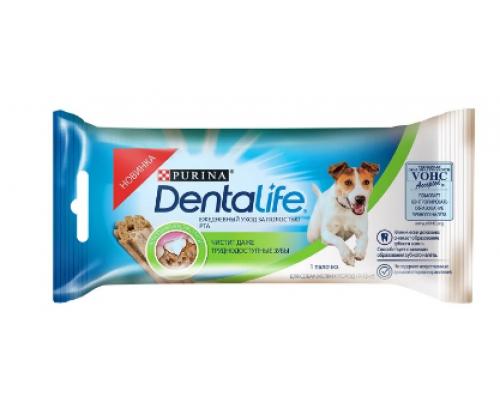 Purina Dentalife лакомство для собак Мелких пород уход за полостью рта. Вес: 16,4 г