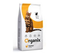 Organix Натуральный корм для кошек с курочкой (Adult Cat Chicken)