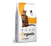 Organix Натуральный корм для кошек с курочкой (Adult Cat Chicken). Вес: 1,5 кг