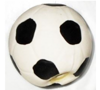 TRIOL Игрушка для собак Мяч футбольный, латекс d7см (Триол)