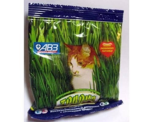 АВЗ Травка для кошек в пакетике, 30 г