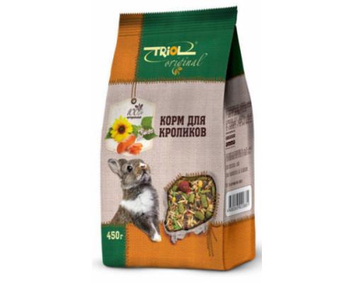 TRIOL Original корм для кроликов. Вес: 450 г