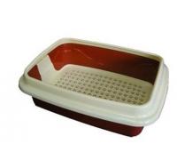 Туалет Догман для кошек Триплекс средний 34х15х44см
