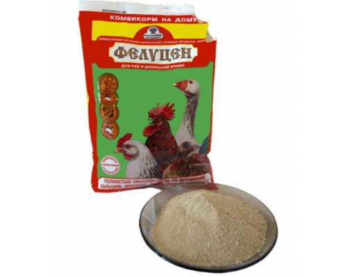 УВМКК Фелуцен витаминный комплекс для кур и др. домашней птицы порошок. Вес: 1 кг