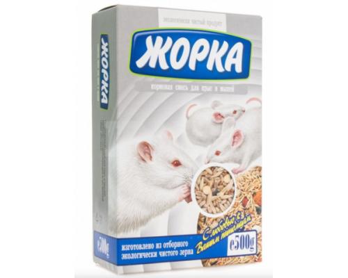 Жорка Корм для крыс и мышей. Вес: 500 г