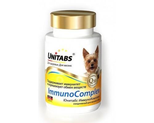 UNITABS Immuno Complex с Q10 для мелких собак 100 таб