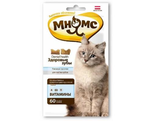 Мнямс Дентал лакомство для кошек, 60 г
