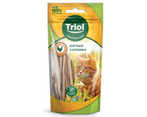 TRIOL Мягкая соломка из курицы для кошек (Триол). Вес: 40 г