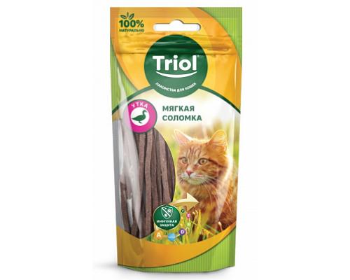 TRIOL Мягкая соломка из утки для кошек (Триол). Вес: 40 г