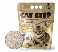 Cat Step наполнитель растительный комкующийся Оригинал (Кэт Степ) 6 л