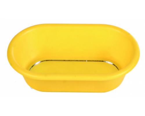 Купалка для птиц Ванночка с зеркалом пластиковая 15х8см (TRIXIE)