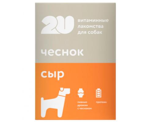 """2u Витаминное лакомство для собак """"пивные дрожжи"""", 60таб"""