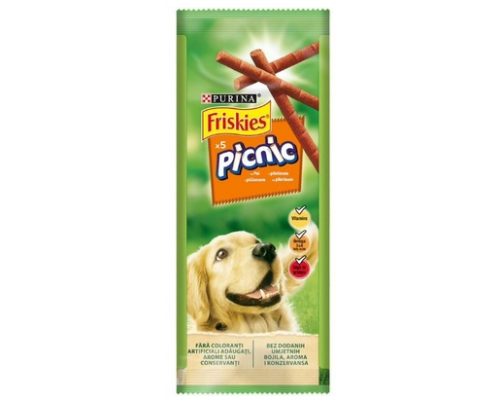 Friskies Picnic для взрослых собак с курицей. Вес: 42 г