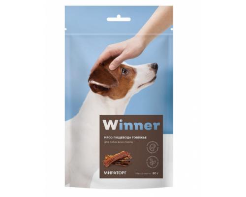 WINNER Лакомство для собак Пищевод (Виннер). Вес: 80 г