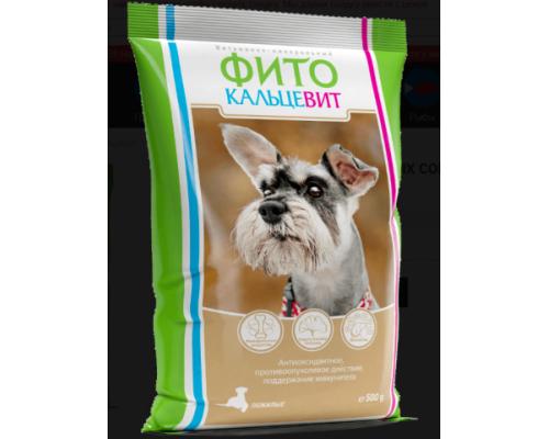 Фитокальцевит для пожилых собак. Вес: 500 г