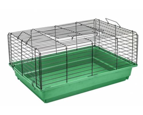"""Дарэлл Клетка для кроликов и морских свинок """"Кролик №1"""" чёрная, складная 58х40х30см"""