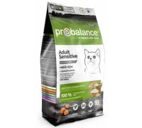 ProBalance Sensitive сухой корм для кошек c чувствительным пищеварением Курица/Рис. Вес: 400 г