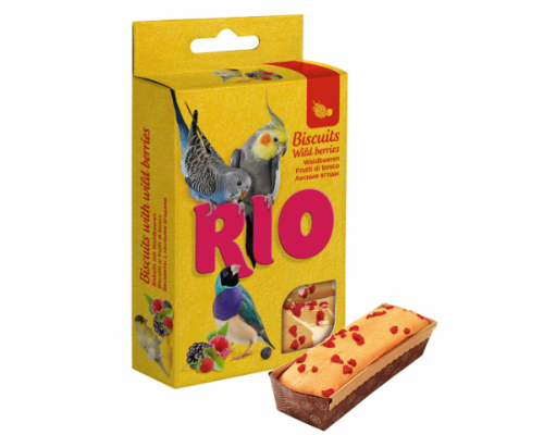РИО Бисквиты для птиц с лесными ягодами. Вес: 35 г