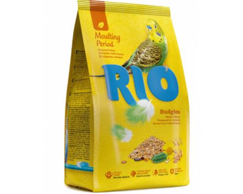 РИО корм для волнистых попугаев во время линьки. Вес: 500 г