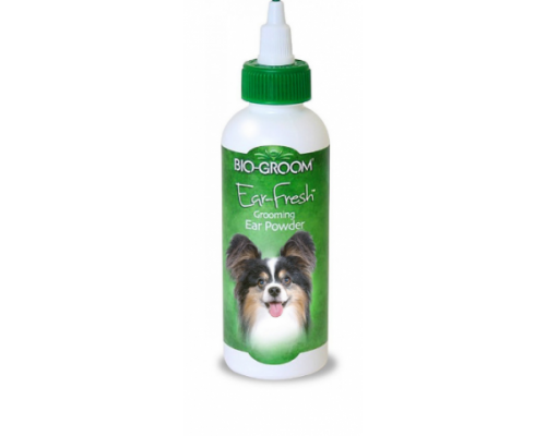 Bio-Groom Ear Fresh пудра для ухода за ушами собак и кошек 24 г