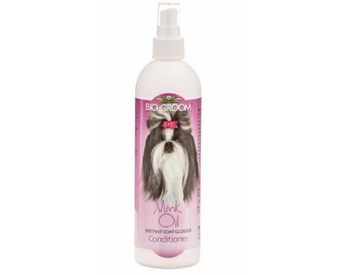Bio-Groom Mink Oil спрей с норковым маслом для блеска и роста шерсти 355 мл