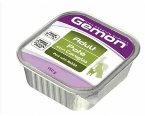 Gemon Dog консервы для собак паштет кролик. Вес: 150 г