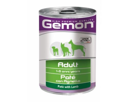 Gemon Dog консервы для собак паштет ягненок. Вес: 400 г