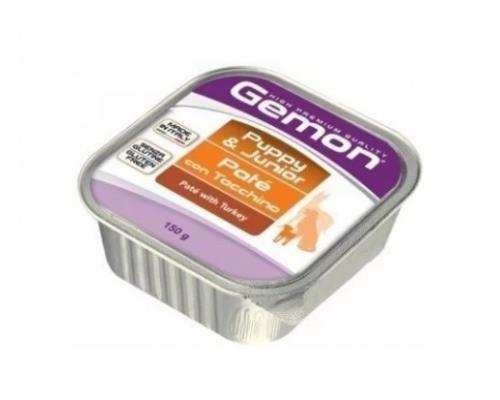 Gemon Dog консервы для щенков паштет индейка. Вес: 150 г