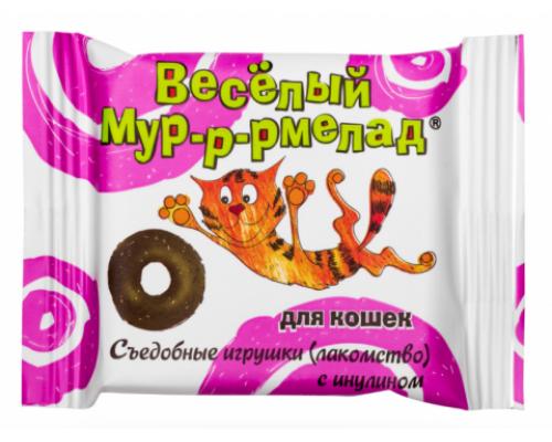 Веселый мур-р-рмелад с инулином для кошек, 6 г